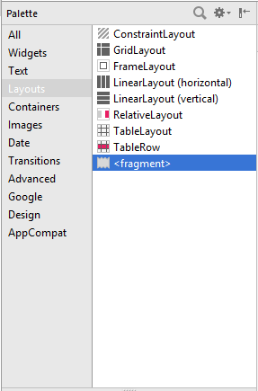 Android: Layouts
