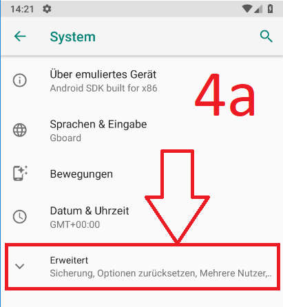 Android 9 (Pie): Android-Backup bei Google-Drive anlegen (Schritt 4a)